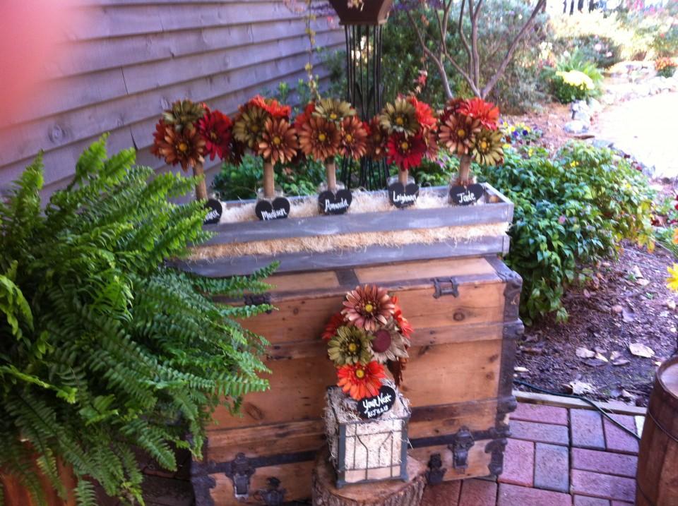 Rustic Bridal Bouquets