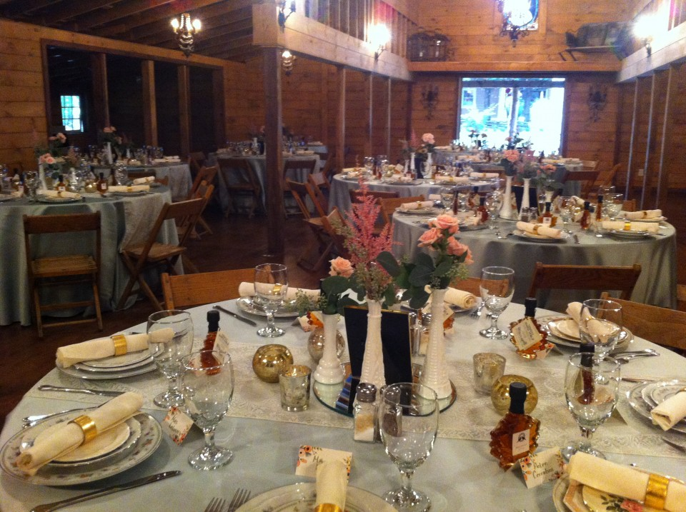 Destarte Wedding Barn Dinner