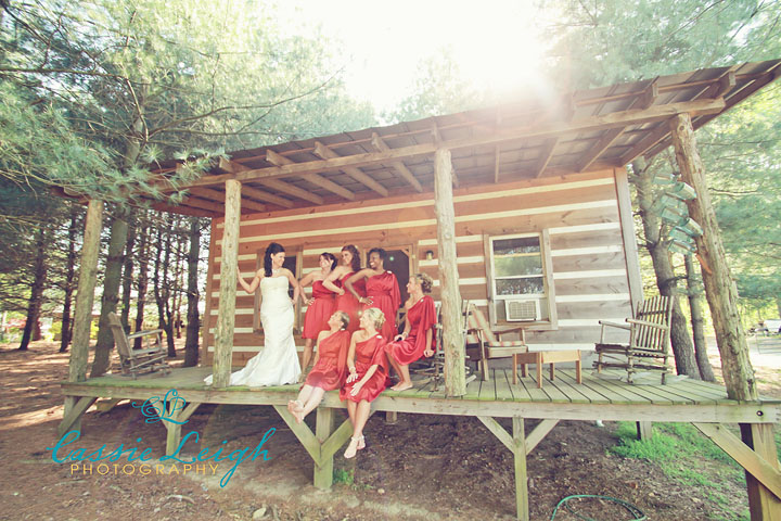 bride-party-cabin