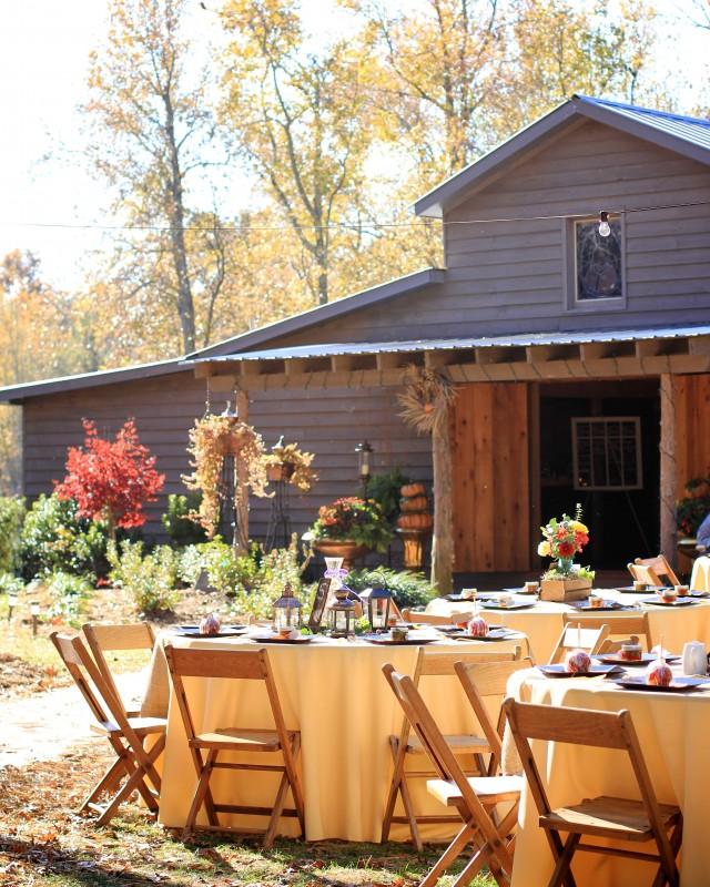 Rustic barn wedding North Carolina