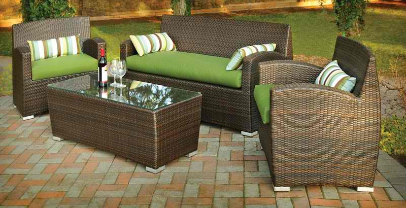 wicker casual lounge furniture