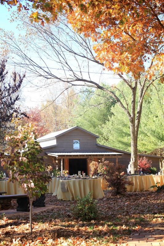 Fall Country Barn Wedding